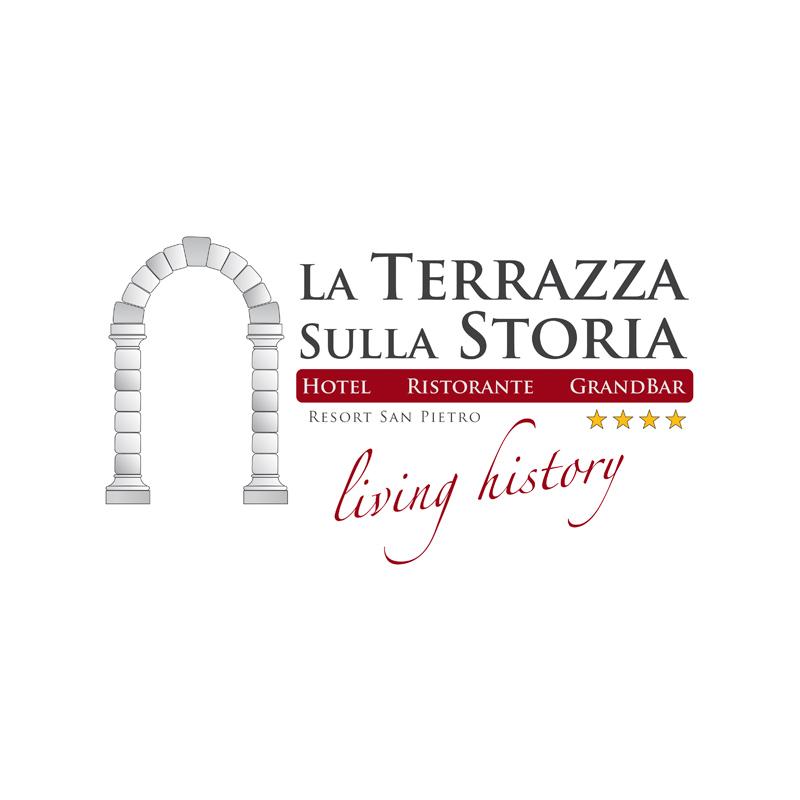 2010 – Logo – La Terrazza sulla Storia – Resort