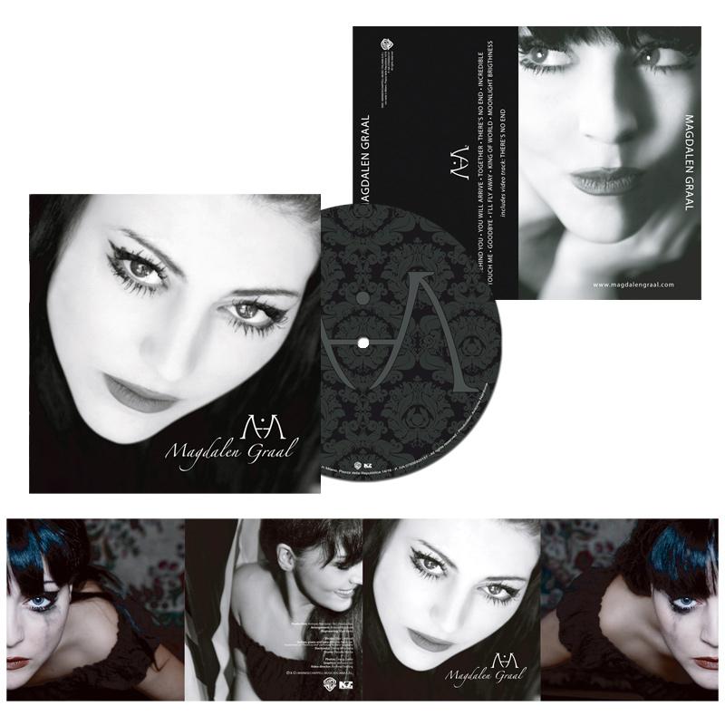 2012 – CD cover – Magdalen Graal