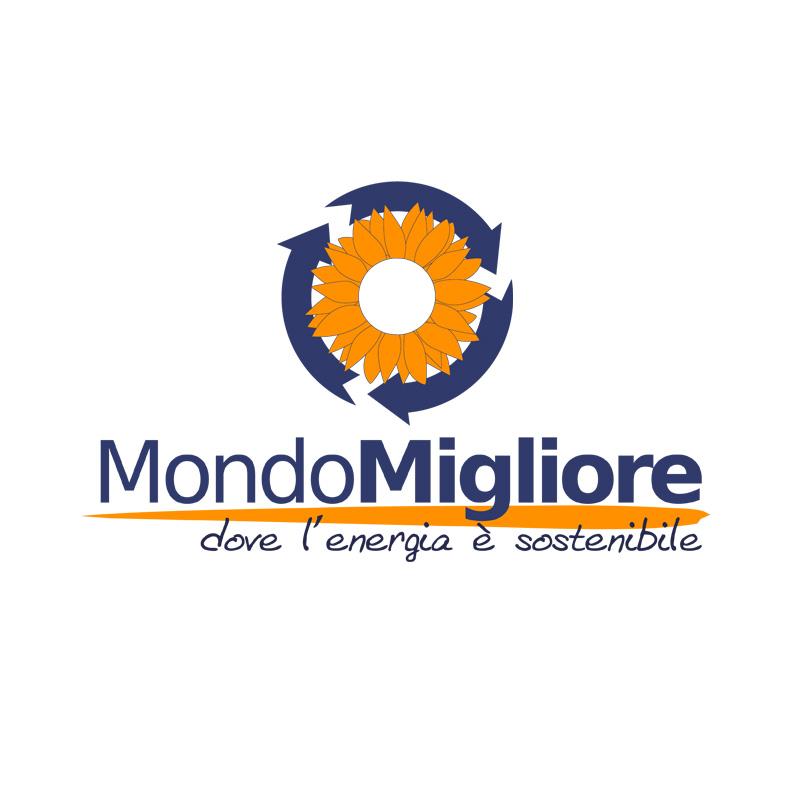 2008 – Logo – Mondo Migliore – Fotovoltaico ed eolico