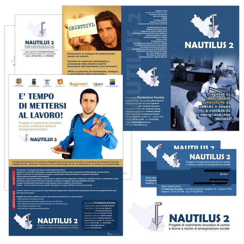2007 - Advertising - Nautilus 2 - Fondazione Exodus