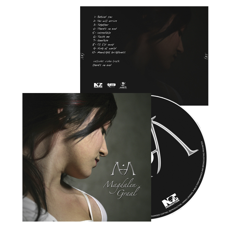 2009 – CD cover – Magdalen Graal